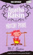 Okładka książki - Agatha Raisin i mroczny piknik