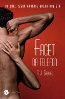 Okładka książki - Facet na telefon