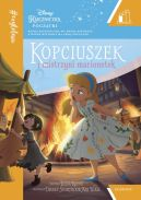 Okładka ksiązki - Kopciuszek i mistrzyni marionetek. #Czytelnia
