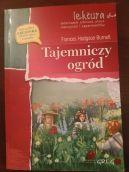 Okładka ksiązki - Tajemniczy ogród.