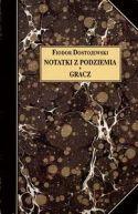 Okładka ksiązki - Notatki z podziemia. Gracz