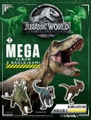 Okładka ksiązki - Jurassic World 2. Megaalbum z naklejkami