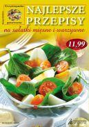 Okładka ksiązki - Najlepsze przepisy na sałatki mięsne i warzywne