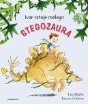 Okładka - Ivar ratuje małego stegozaura