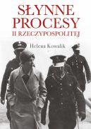 Okładka - Słynne procesy II Rzeczypospolitej
