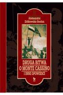 Okładka ksiązki - Druga bitwa o Monte Cassino