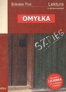 Okładka ksiązki - Omyłka - lektura z opracowaniem