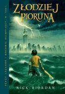 Okładka książki - Percy Jackson i Bogowie Olimpijscy: Złodziej Pioruna
