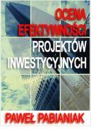 Okładka - Ocena Efektywności Projektów Inwestycyjnych