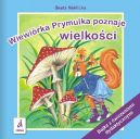 Okładka ksiązki - Wiewiórka Prymulka poznaje wielkości