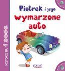 Okładka ksiązki - Piotrek i jego wymarzone auto