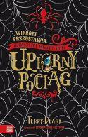 Okładka książki - Wiggott przedstawia Fantastyczny Woskowy Świat. Upiorny pociąg