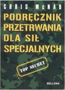 Okładka ksiązki - Podręcznik przetrwania dla sił specjalnych