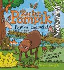 Okładka - Żubr Pompik. Polinka zaginęła. 12 kartonowych stron z okienkami