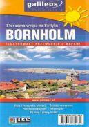 Okładka ksiązki - Bornholm. Słoneczna wyspa na Bałtyku. Przewodnik z mapami