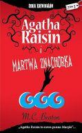 Okładka książki - Agatha Raisin i martwa znachorka