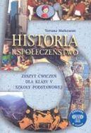 Okładka - Historia i społeczeństwo 5. Podróże w czasie, zeszyt ćwiczeń dla klasy V szkoły podstawowej