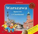 Okładka ksiązki - Warszawa. Spacery z Ciumkami