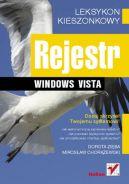 Okładka ksiązki - Rejestr Windows Vista Leksykon kieszonkowy