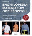 Okładka książki - Encyklopedia materiałów odzieżowych. Podręcznik kreatywnego doboru tkanin dla projektntów