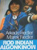 Okładka ksiązki -  Ród Indian Algonkinów
