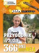 Okładka ksiązki - Przygodnik 2019/2020. 366 dni w poszukiwaniu groźnych zwierząt z Nelą