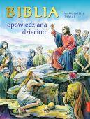 Okładka - Biblia opowiedziana dzieciom