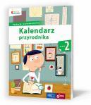 Okładka książki - Kalendarz przyrodnika kl.2
