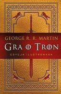 Okładka ksiązki - Gra o tron (edycja ilustrowana)