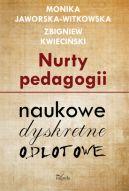 Okładka książki - Nurty pedagogii