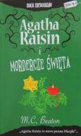 Okładka książki - Agatha Raisin i mordercze święta