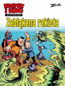 Okładka ksiązki - Kajtek i Koko w kosmosie. Zabłąkana rakieta