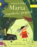 Okładka ksiązki -  Marta i zagadkowy pojazd