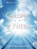 Okładka książki - Chłopiec, który wrócił z Nieba