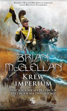 """Wygraj książki Briana McClellana z serii """"Bogowie krwi i prochu"""
