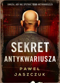 """Wygraj książkę """"Sekret antykwariusza"""