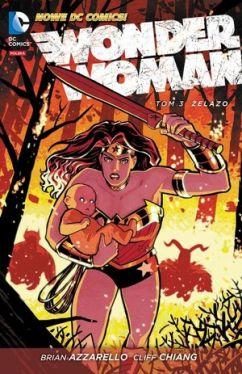 Okładka książki - Wonder Woman, Żelazo, tom 3