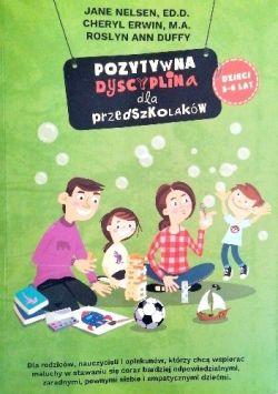 Okładka książki - Pozytywna dyscyplina dla przedszkolaków