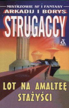 Okładka książki - Lot na Amalteę. Stażyści