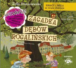 Okładka książki - Ignacy i Mela na tropie złodzieja. Zagadka dębów rogalińskich. Audiobook