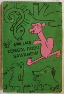 Okładka książki - Zemsta rodu Sawanów