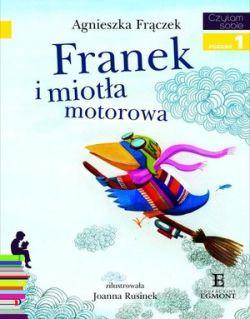 Okładka książki - Franek i miotła motorowa