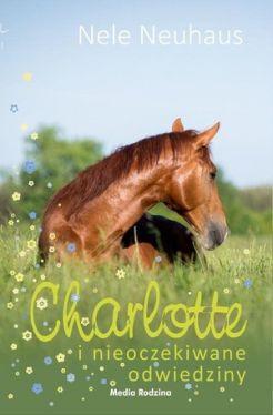 Okładka książki - Charlotte i nieoczekiwane odwiedziny