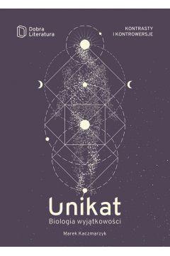 Okładka książki - Unikat. Biologia wyjątkowości