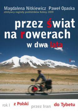 Okładka książki - Przez świat na rowerach w dwa lata