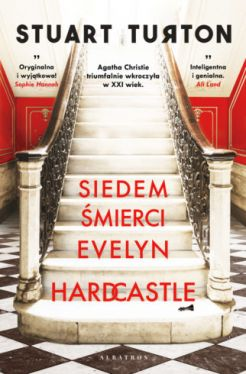 Okładka książki - Siedem śmierci Evelyn Hardcastle