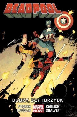 Okładka książki - Deadpool: Dobry, zły i brzydki, tom 3