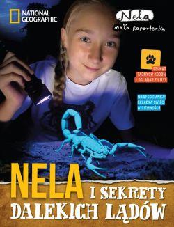 Okładka książki - Nela i sekrety dalekich lądów