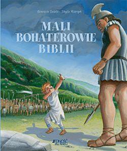Okładka książki - Mali bohaterowie Biblii