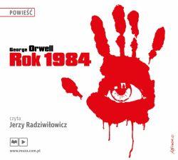 Okładka książki - Rok 1984. Audiobook
